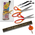 Gift Set with souvenir San Francisco cable car box containing left-handed essentials