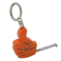 Right-to-Left Reading Key Chain Tape Measure