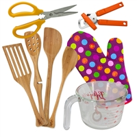 8 Piece Left-Handed Kitchen Shear Set