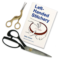 Left-Handed Sewing and Embroidery Set