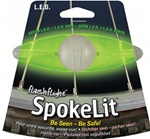 Nite Ize Spoketlit L.E.D Light. - Green or Red