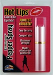 Hot Lips Lipstick Pepper Spray (Pink)