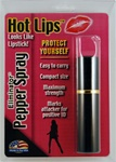 Hot Lips Lipstick Pepper Spray (Black)