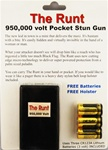 The Runt 950K volt pocket stun gun
