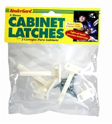 KinderGard Cabinet Latches  (3 pack)