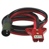 0094500790 Schumacher NATO Cable 2MM Plug (Red Connector)