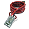 0094500813 Schumacher NATO Cable Aux Gray 4mm Plug