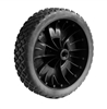 "0099000471 Wheel 7"" X 1.75"" Brick Tread For 3/8 Axle."