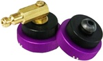 BFX Adapter Ba01  Three Tab  Twist On With Expandable O-Ring.  See Catalog