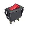 0499000117 Schumacher Rocker Switch Red Illuminated