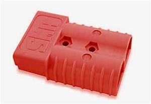 079-313-000 Solar Connector Housing 175 Amp Red (210360)