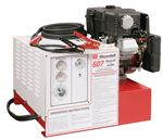 11-607 Goodall Start-All 12 Volt Gasoline Engine Powered 450 Amp 13 CFM Air Compressor