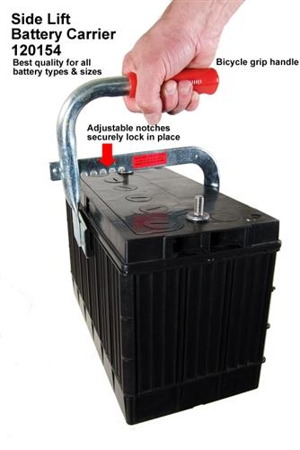 Adjustable Heavy Duty Side Lift Grip Battery Carrier Lifter Suuonee Battery Carrier Tray