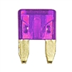 509102-2005 QuickCable Mini Blade Fuse 3 Amp Violet (5 Pack)