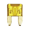 509108-100 QuickCable Mini Blade Fuse 20 Amp Yellow (100 Pack)