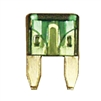 509110-100 QuickCable Mini Blade Fuse 30 Amp Green (100 Pack)