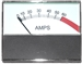 S29420-13 Century Ammeter Horizontal 0-60 Amp Range With Boost