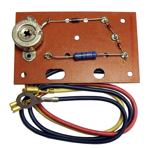 865-243-666 Voltmeter Horizontal 0-20 Volt With Battery Test Alternator  Test And Printed Circuit Board Assembly