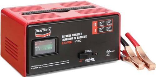 87102c Century 10 2 Amp 6 12 Volt Manual Automotive Battery Charger