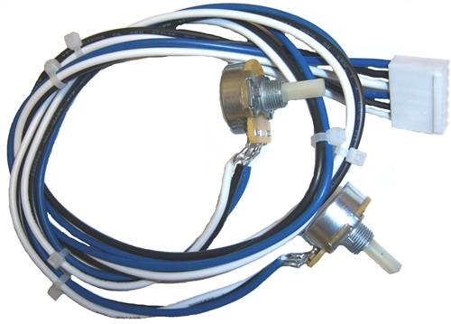 880 052 666 heat and wire feed potentiometers harness