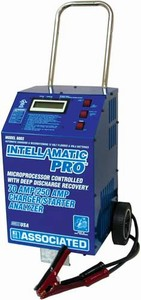 6003 Associated 70/250 Amp 12 Volt Automotive Battery Charger - Intellamatic Pro