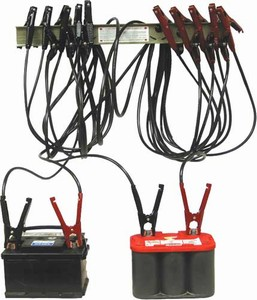 6075 Associated 300 Amp Parallel Bus Bar Kit 10 Pair