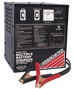 6082 Associated Series Battery Charger 6a 1-60 Cells (Remanufactured)