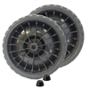 62964319 Marquette Wheel Kit With Hubs Rubber 6 ""