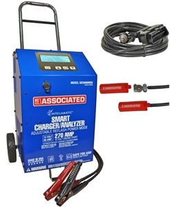 IBC6008MSK Associated 60/270 Amp 12 Volt Automatic Automotive Battery Charger / Analyzer