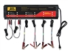 BUSPRO-620S Auto Meter 220 Volt 5 Amp 6 Station 12 Volt Automotive Battery Charger