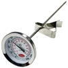 "2238-06-3 Cooper-Atkins 2"" Dial 8"" Stem Thermometer w/Clip Glass Lens NSF 0/220°F/°C"