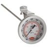 "2238-14-3 Cooper 2"" Dial 8"" Stem Thermometer With Clip Glass Lens NSF 50/550 °F/°C"