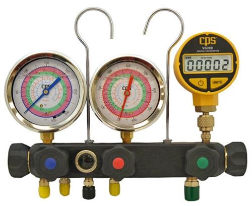 MV5H3D CPS R134A R22 R404A R410A 3-1/8
