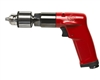 "CP1014P05 Chicago Pneumatic 3/8"" (10mm) 0.5Hp Industrial Pistol Drill with Jacobs Keyed Chuck"