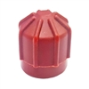 2611 FJC Inc. R134a Service Port Cap - 10mm x 1.25 - HS Red (5 Pack)