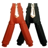 45268 FJC Inc. Heavy Duty Commercial 800 AMP Black and Red Clamps (Pair)