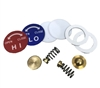 6134 FJC Inc. Diaphragm Repair Kit for FJC Aluminum Gauge Set