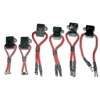 8014 Innovative Products Of America 6-Piece Fuse Box Adapter Kit adapts Fuse Saver® to various non-blade style fuses.