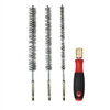 "8083 IPA 9"" Stainless Steel Bore Brush Set with Driver Handle"