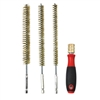 "8084 IPA 9"" Brass Bore Brush Set with Driver Handle"