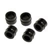 "P511 JB Industries 1/4"" Cap Hose & Coupler Gasket 6 Pack"