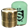 SHLD-G4 JB Industries Shield Tamper Resistant Access Valve Locking Cap R-22 Green - 4 Pack
