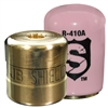 SHLD-P50 JB Industries Shield Tamper Resistant Access Valve Locking Cap R-410 Pink - 50 Pack includes Stubby Driver and Bit