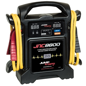 JNC8800 Jump-N-Carry 800 Amp Ultracapacitor Jump Starter