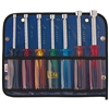"K7 Klein Tools 7 Piece Nut Driver Set 3"" Shaft Color Coded W/Pouch"