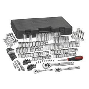 "80932 KD Tools GearWrench 165 PC 1/4"" 3/8"" 1/2"" Drive Mechanics Tool Set"