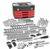 "80935 KD Tools GearWrench 225 PC 1/4"" 3/8"" 1/2"" Drive 6-12 Pt Mechanics Tool Set Multi Drive"