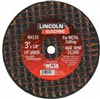 "KH133 Lincoln Cut-Off Wheel 3""X1/8"" 1/4"" Arbor"