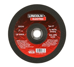 "KH241 Lincoln Grinding Wheel Arbor Type 27 4""X1/8"" - 5/8"""