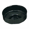 61550 Lisle 80mm Cap Filter Wrench 15 Flutes